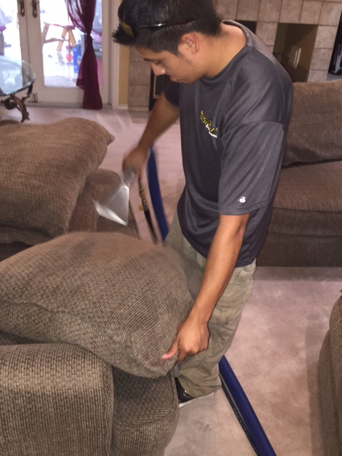 Sofa & Chair cleaning Special - $139.