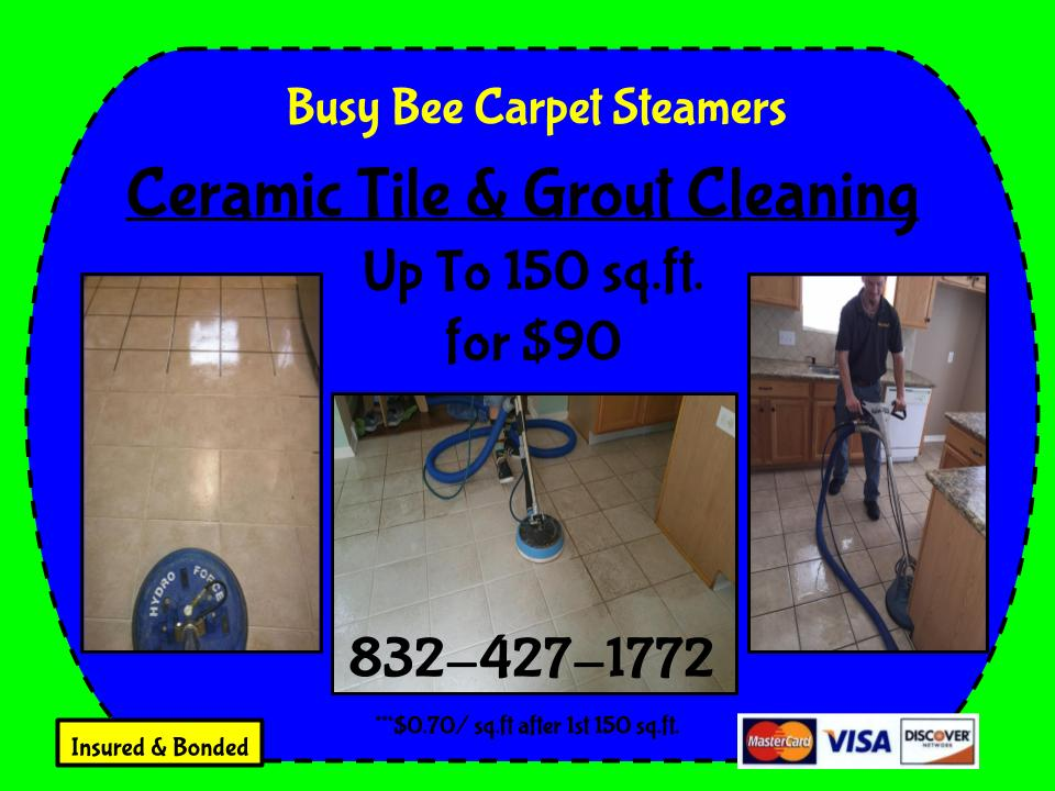 Cypress and NW Houston tile cleaners.