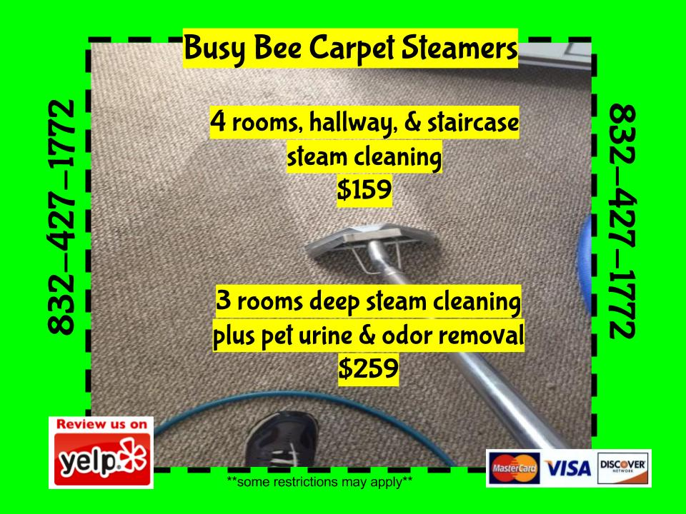 NW Houston Carpet cleaning services