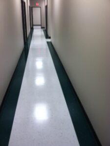Commercial Floor Waxing